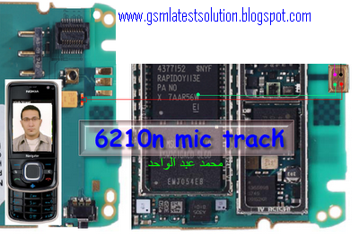 All Mobile Solution Free: Nokia 6210n mic solution