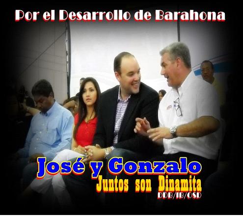 JUNTOS SON DINAMITA POR EL DESARROLLO DE BARAHONA