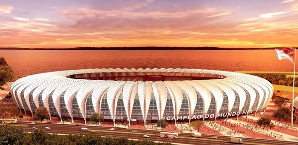 Beira-Rio, do Internacional, em Porto Alegre
