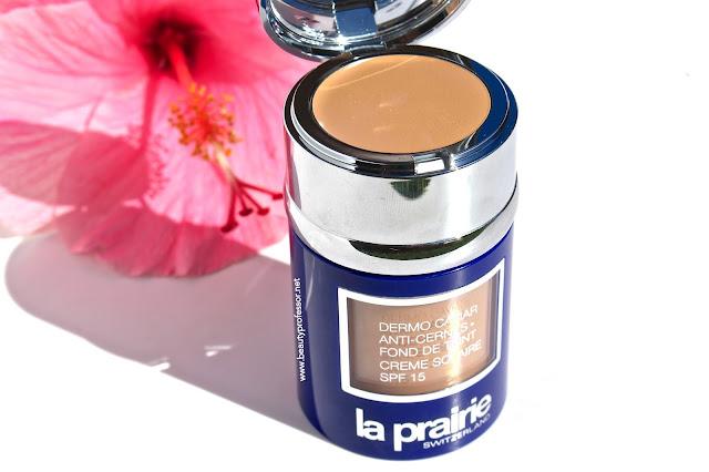 la prairie skin caviar foundation honey beige