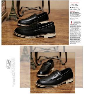 Sepatu formal pria model korea