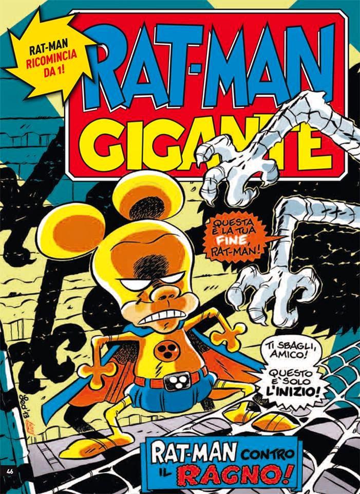 Copertina del primo numero di Rat-Man Gigante