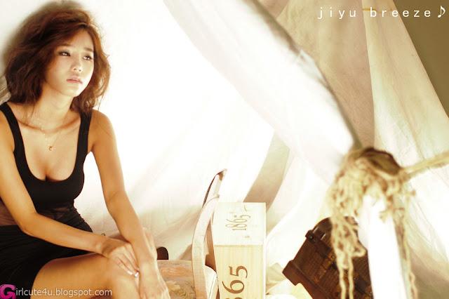 3 Lee Ji Min in Black-very cute asian girl-girlcute4u.blogspot.com
