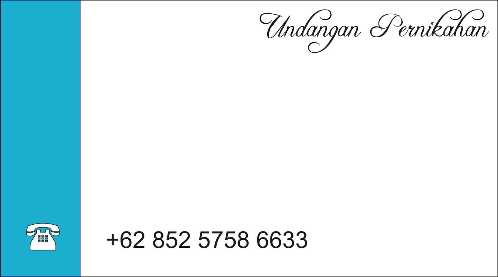 0852 5758 6633 Kartu Undangan Pernikahan Unik Macam Souvenir Mahar