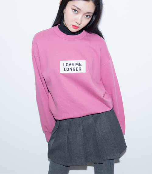 Hide and Seek Embroidered Patch Detail Sweatshirt