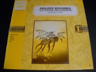 PHILIPPE BESOMBES - LA GUERRE DES ANIMAUX, LP, 1982, FRANCE