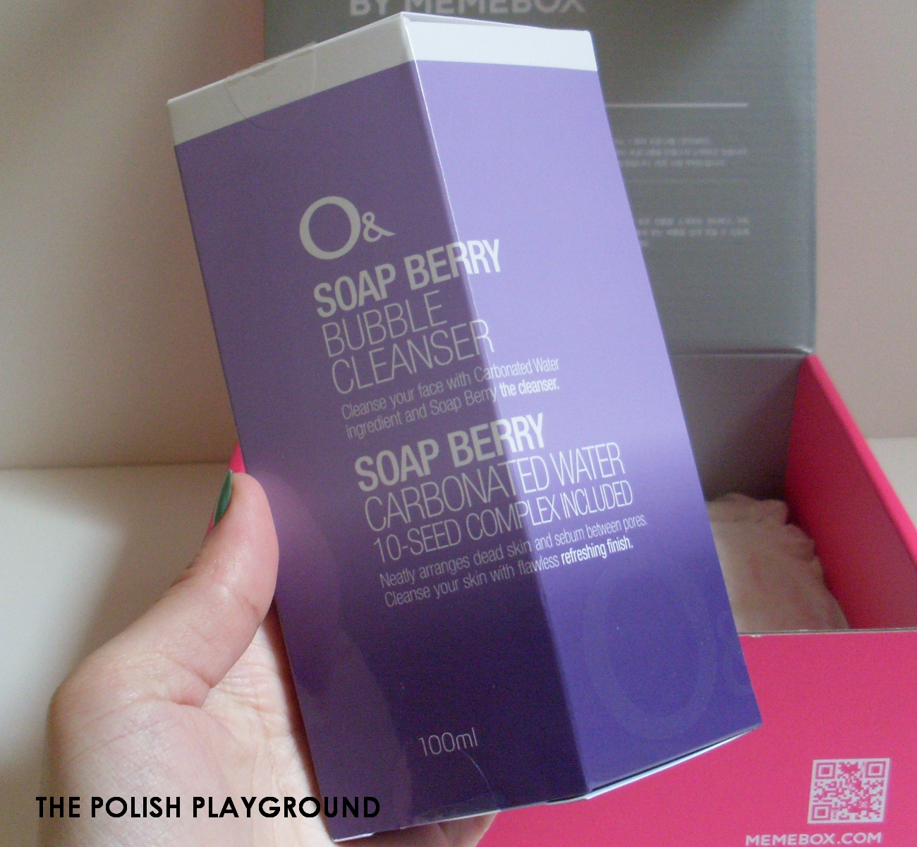 Memebox Luckybox #5 Unboxing - O& Soap Berry Bubble Cleanser