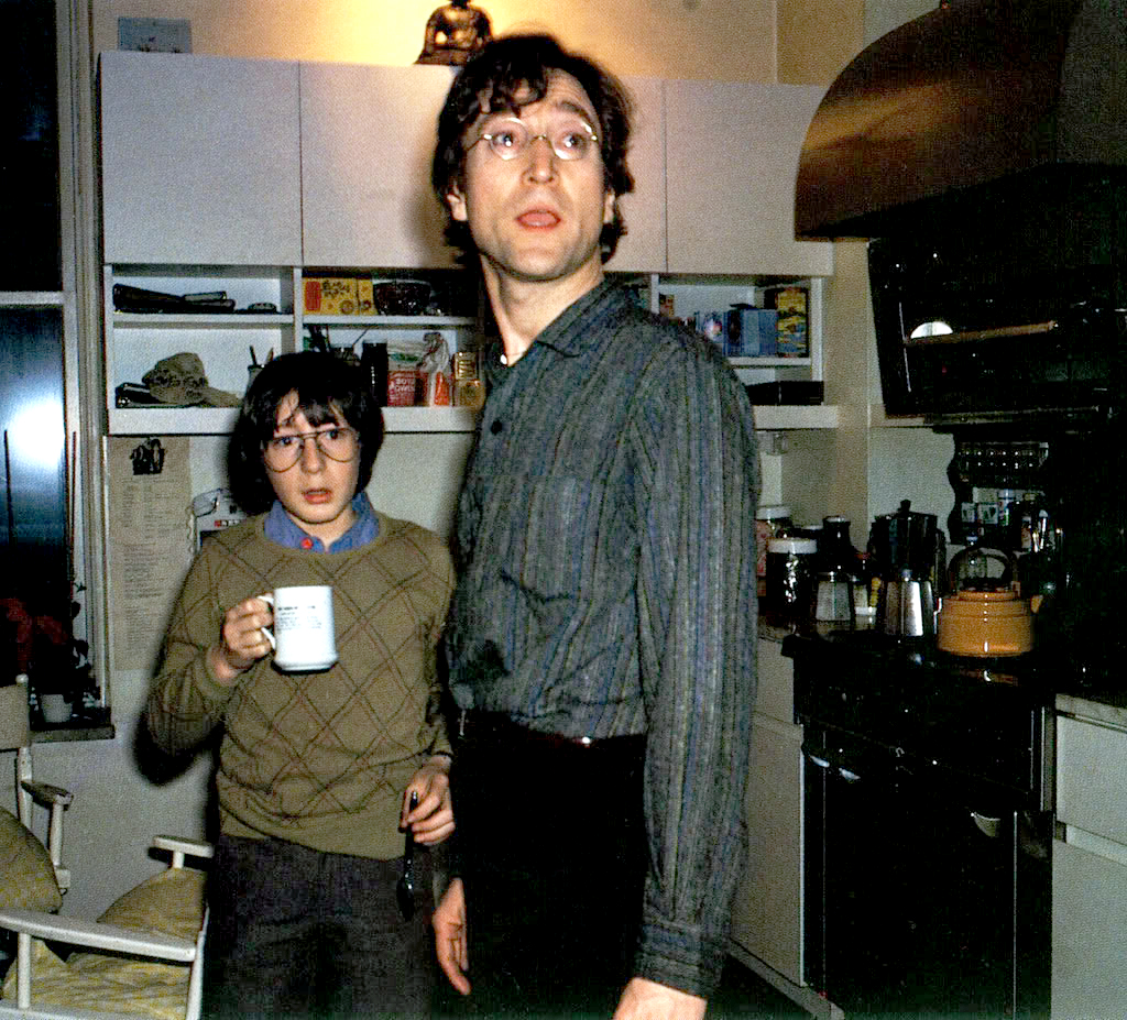 Julian And John At The End Of 1970s