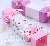Подарочная упаковка в виде конфет