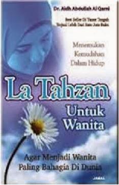 Buku La Tahzan Untuk Wanita - Aidh Abdullah