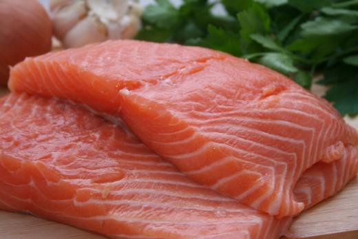 El pescado crudo no es un buen alimento para perros.