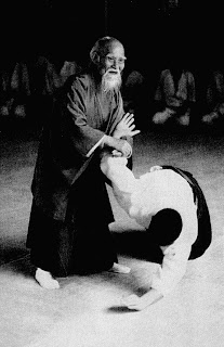 Performing aikido