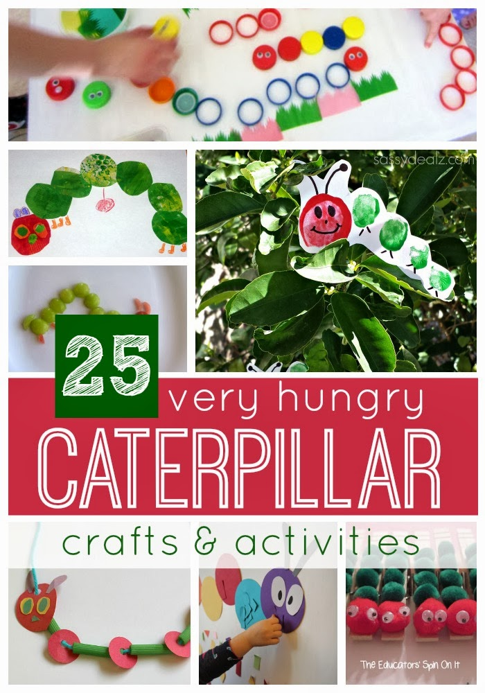 25 Very Hungry Caterpillar Crafts Activities