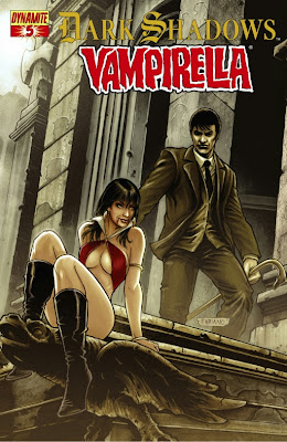 Cover of Dark Shadows/Vampirella #5