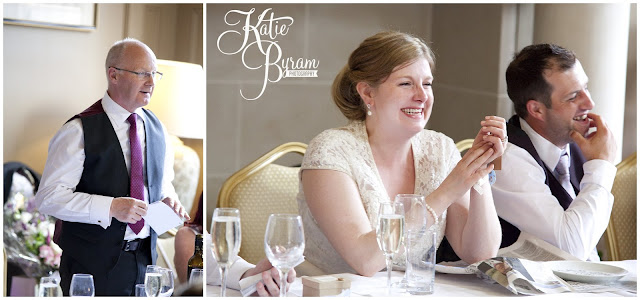 wedding speeches, ellingham hall, ellingham hall wedding, northumberland wedding photographer, newcastle wedding photographer, ceremony signs, paper pom poms, quirky wedding photography, katie byram photography, diy wedding