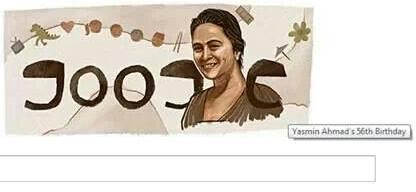 Google Doodle 7 Januari Yasmin Ahmad Birthday (Biografi)