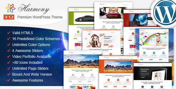 Image for Harmony – Multipurpose Theme by ThemeForest