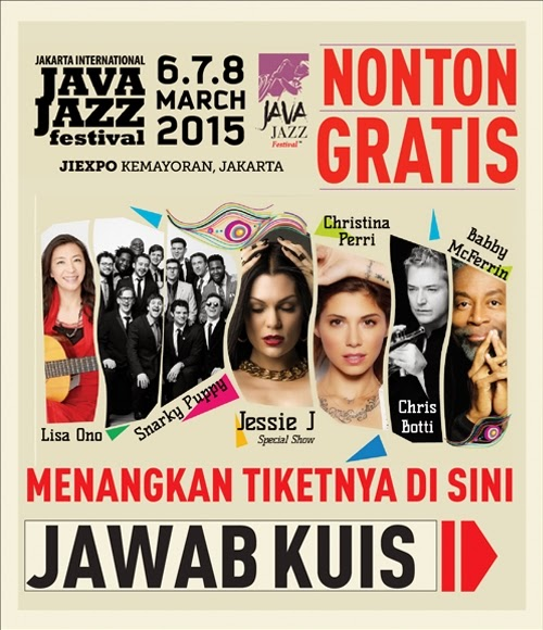 Kuis Berhadiah Tiket Java Jazz Maret 2015