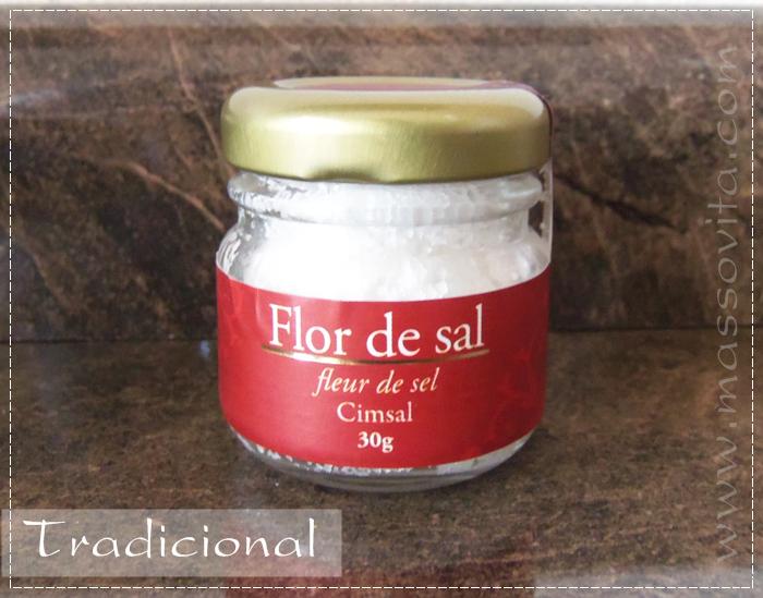Flor de sal tradicional