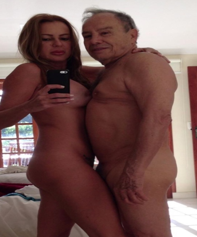 Stênio Garcia e sua esposa Marilene Saad caíram na net peladinhos (Sem tarjas) - http://www.pornoeputaria.com