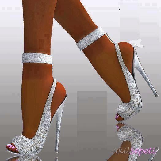 Yeni Moda Gelin Ayakkabı Modeli