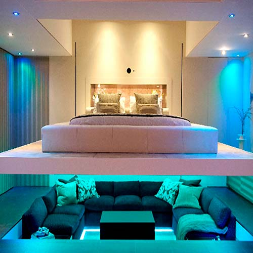 Interior Lighting Design For Modern Minimalist Home Modern Living Room