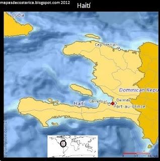 Haití (planiglobe)