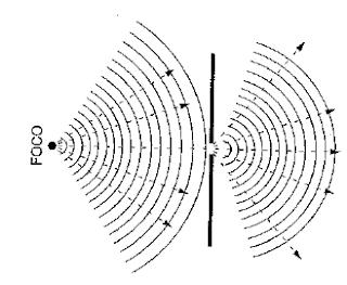 Principio de Huygens frente de ondas
