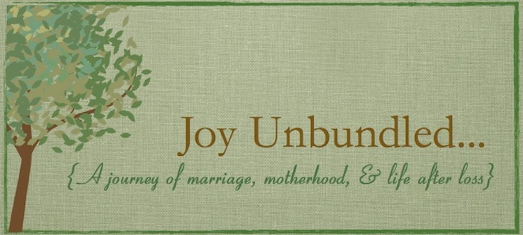 Joy Unbundled...