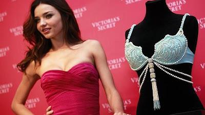 Miranda Kerr presenta el sujetador joya de Victoria´s Secret