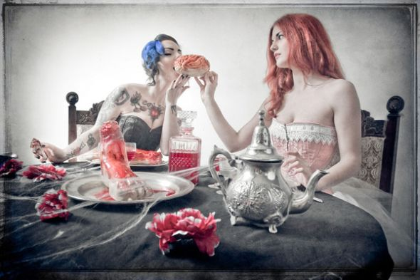 Dennis Ziliotto photography bizarre grim surrealism dreams sensual sexy