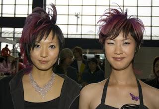 coupe de cheveux exotique