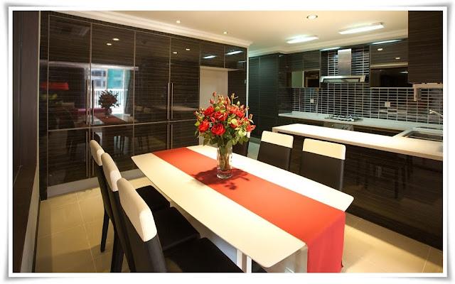 Phòng bếp căn hộ Imperia An Phú 135m
