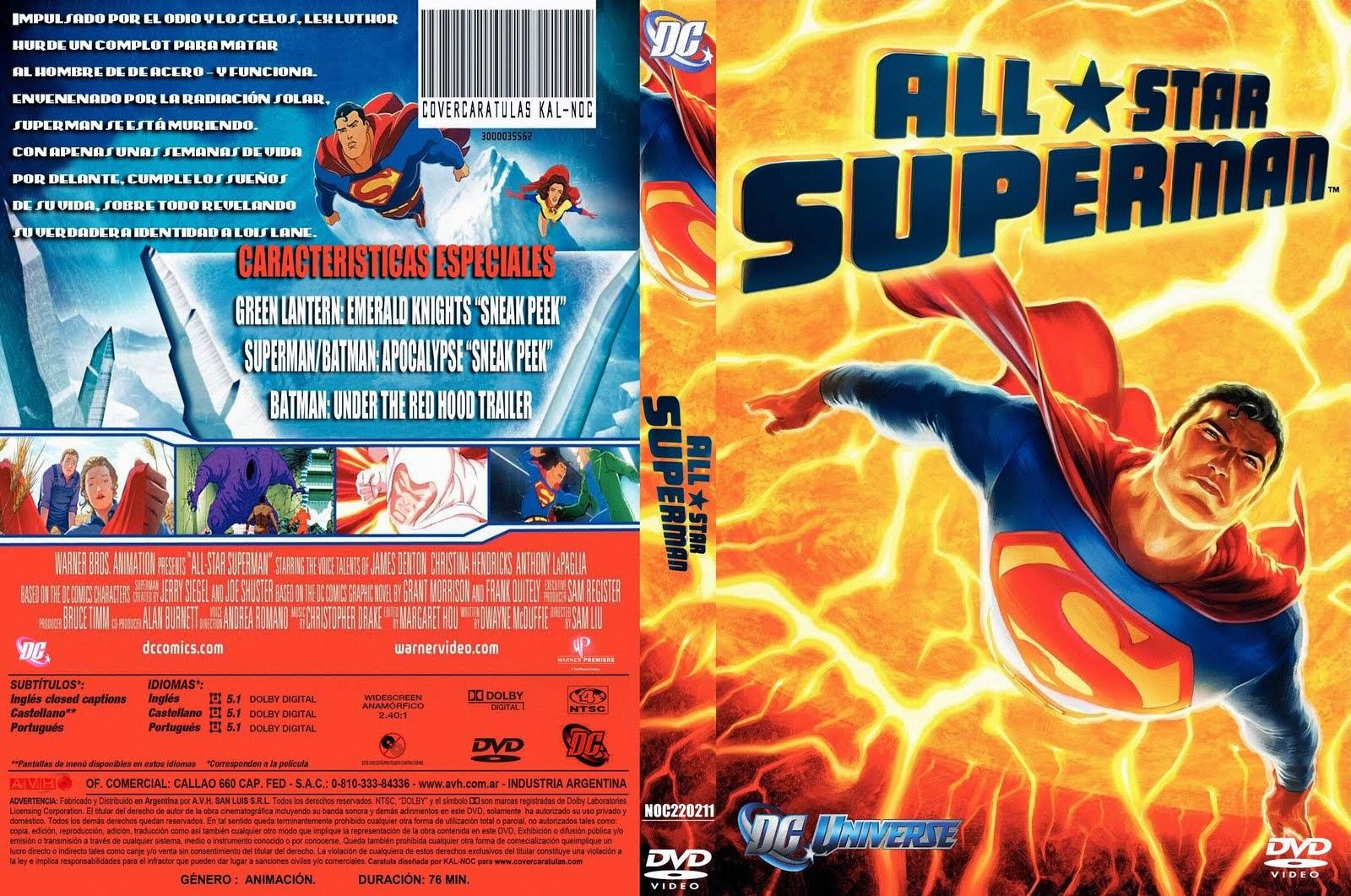 All Star Superman (2011) DVD5