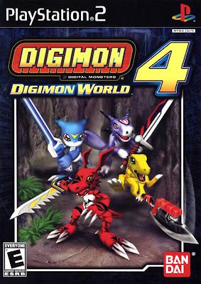 Digimon World 4   PS2 Digimon+World+4
