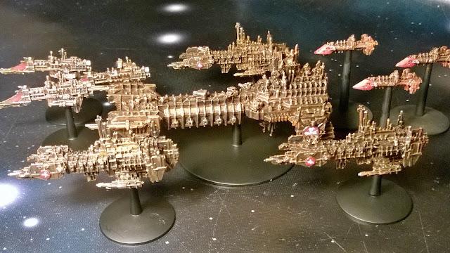 battlefleet gothic space marine fleet