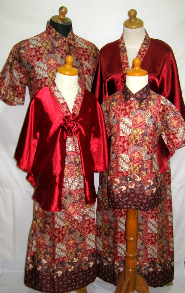 Model Baju Gamis Batik Muslim Modern Th 2014 Auto Design