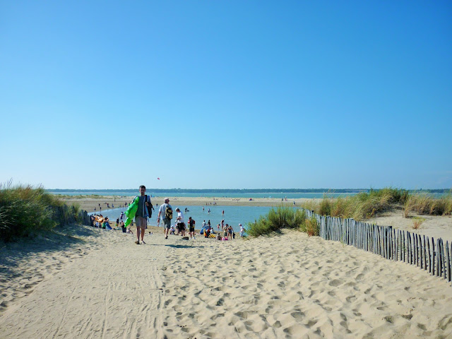 Plage - Ronces Les Bains - charente maritime - la tremblade - france