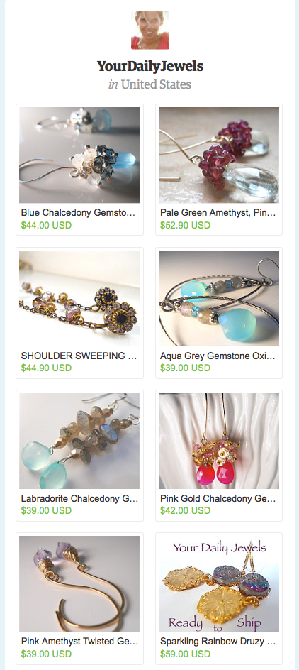 Summer Gemstone Earrings -  Your Daily Jewels