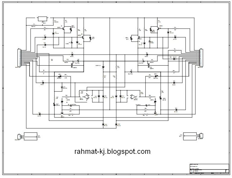 crest audio pro series 8001 schematic