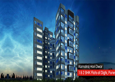 flats in dighi by kamalraj group