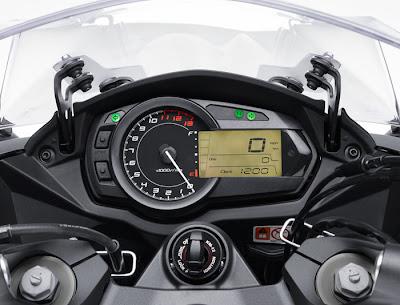 2012 Kawasaki Ninja 1000 ABS Speedo