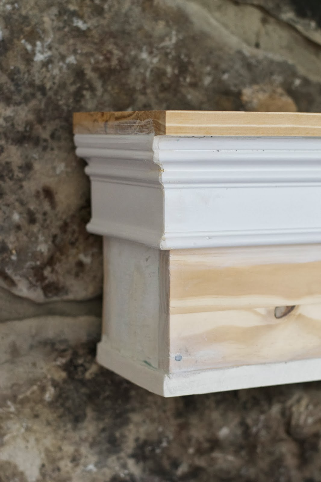 Diy Mantels For Fireplaces Livelovediy How To Build A Mantel
