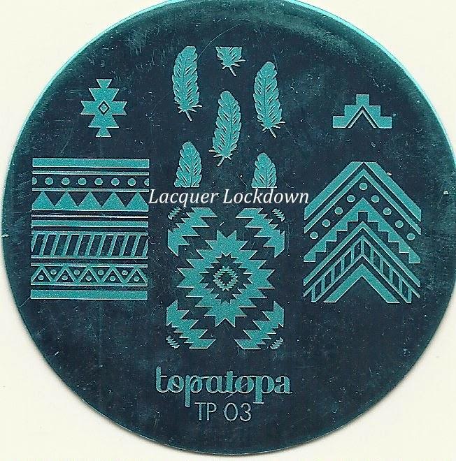 Lacquer Lockdown - Topatopa, Topatopa Nail Art Stamping plates, nail art stamping blog, new nail art stamping plates 2014, new nail art image plates 2014, nail art, nail art stamping, review, pueen 2014