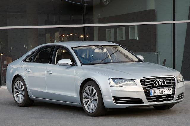 фотографии Audi A8 Hybrid 2012 года