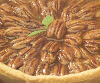 honey and pecan tart