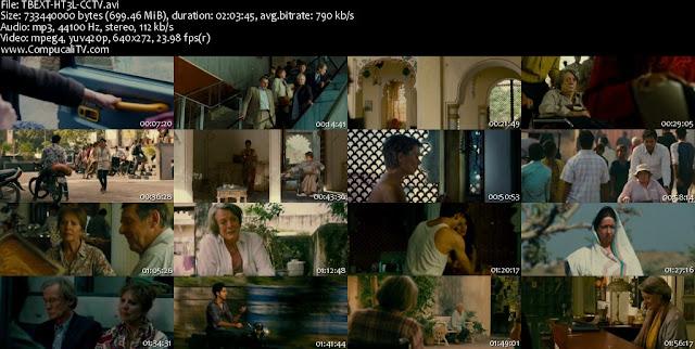 Capturas de el Exótico Hotel Marigold DVDRip Latino