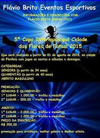 5ª Copa Intermunicipal de Futsal cidade de Florânia