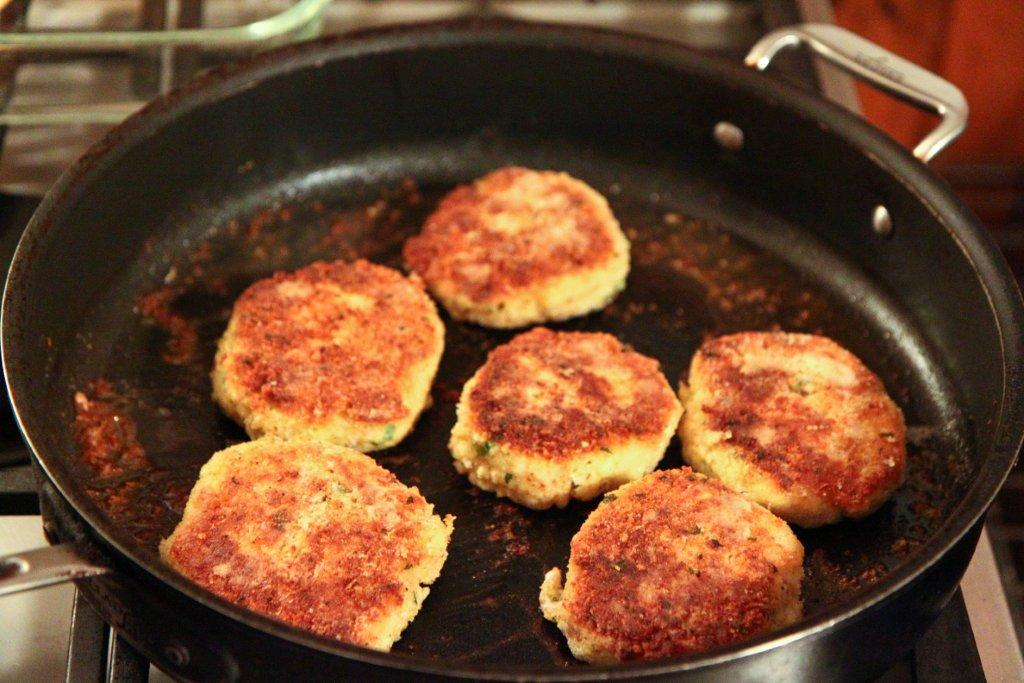 ... Cod Cakes on both sides until goldenbrown. Serve with tartar sauce