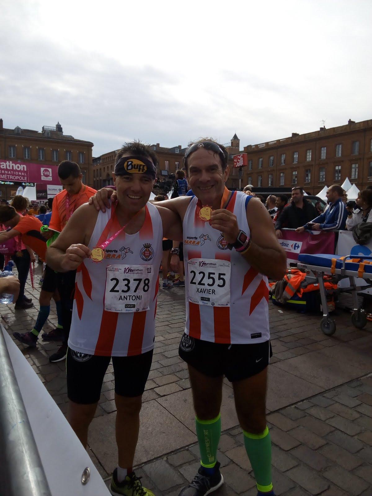 Marathon du Toulouse (23-10-2016)